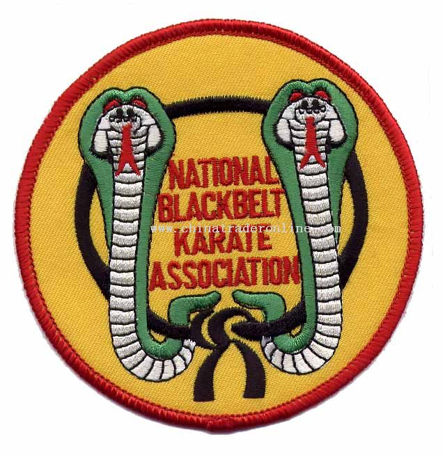 Embroidery Emblem Kickboxing