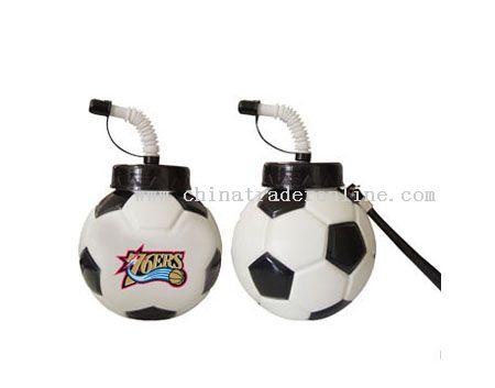 Football Shape Sports Bottles