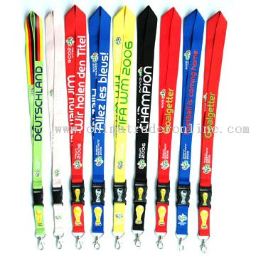 World Cup lanyard