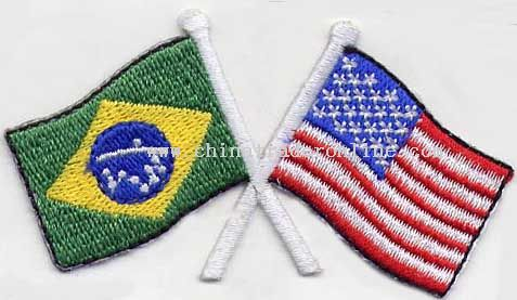 Embroidery Flag