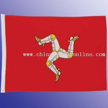 75D Polyester Flag With 75D Polyester And 2 Brass Grommets