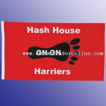 75D Polyester Flag With 75D Polyester Header And 2 Grommets, 3 x 5 from China