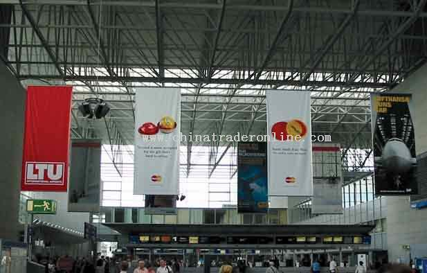 Advertising banners Indoor