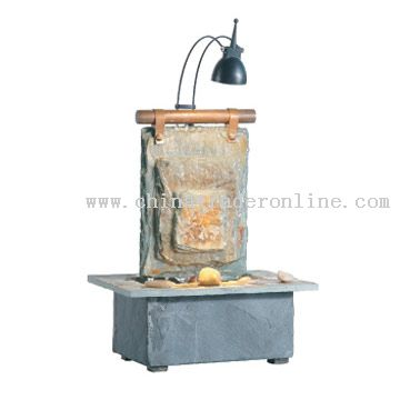 Copper and Slate Patch Fengshui Fountain