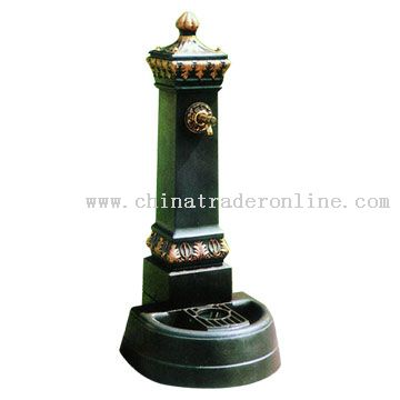 Cast Iron Standing Fountain
