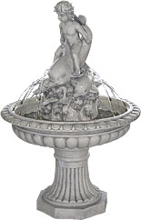 CHERUB and DOLPHIN Fountain