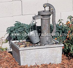 Grandfather Pump Fountain