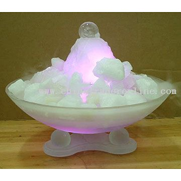 Gemstone Fountain with Mist Maker Inside