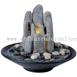 Rock Garden Tabletop Fountain From China