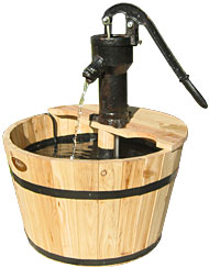 Old Fashioned Pump Fountain (Natural