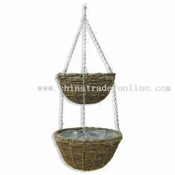 Online Flower on Wholesale Hanging Flower Basket Buy Discount Hanging Flower Basket