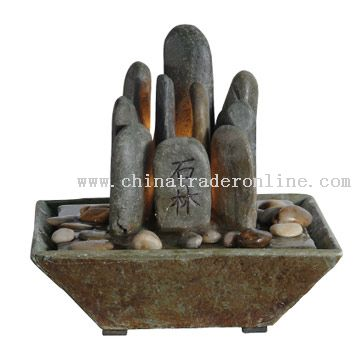 Rock Garden Table Fountain