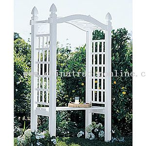 Garden Arbor With Bench From China