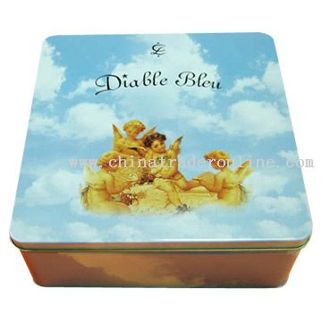 Wine Packaging Tin Box from China