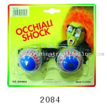 Occhiali Shock Glasses from China