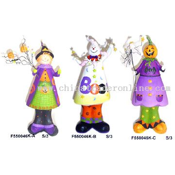 polyresin halloween decorations