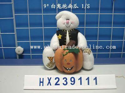 ghost holding pumpkin 1/s