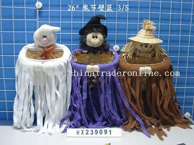 hallowmas wall basket 3/s from China