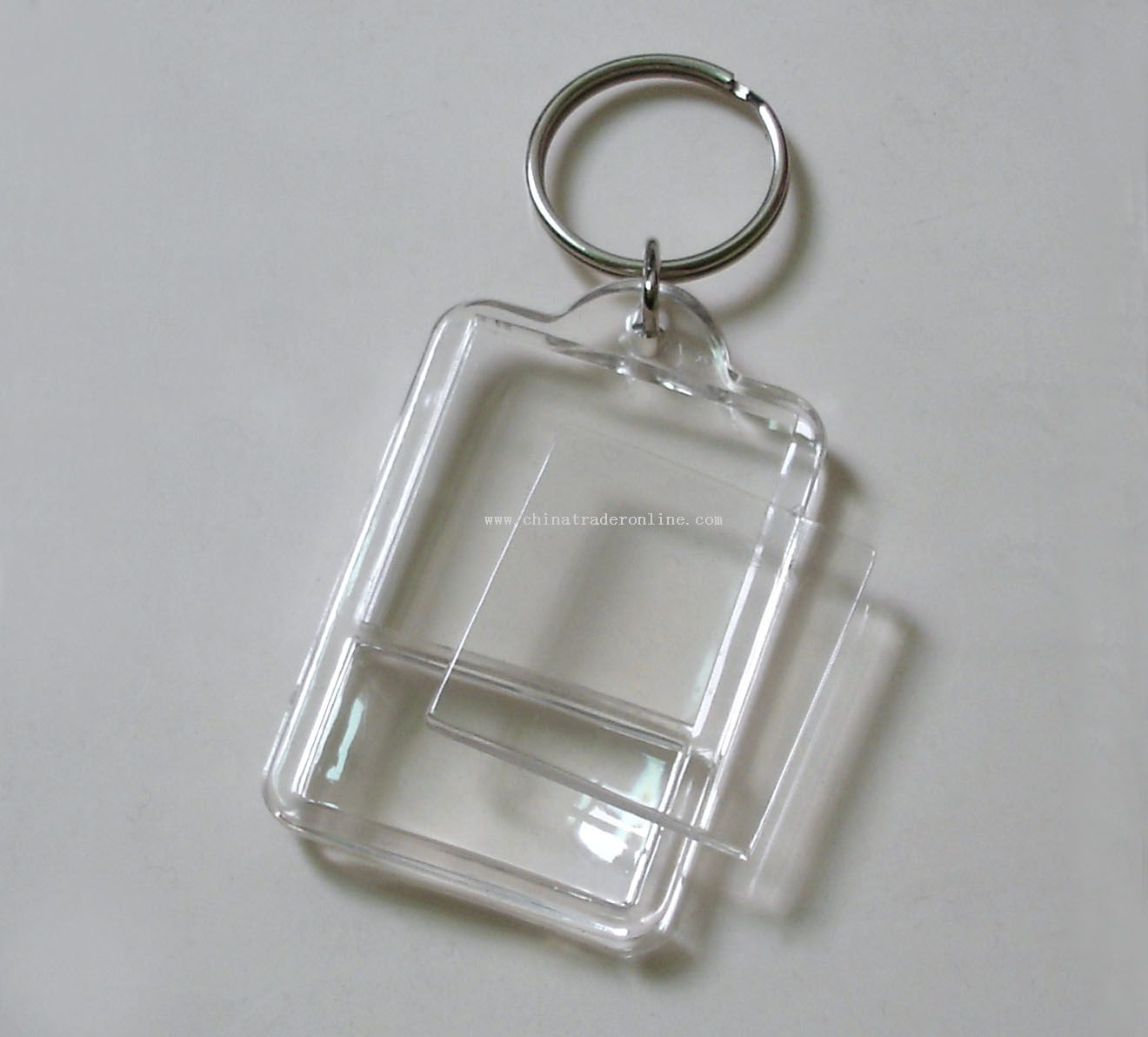 Acrylic keychain with cover