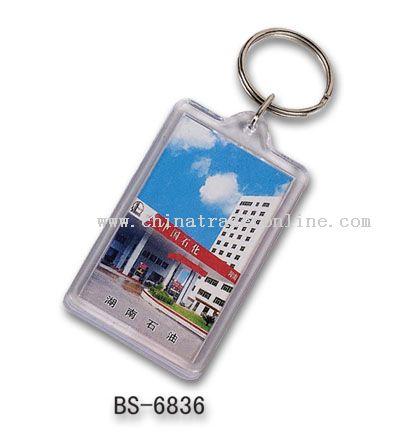 Advertising Acrylic Keychain
