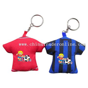 Cloth T-Shirt Keychains
