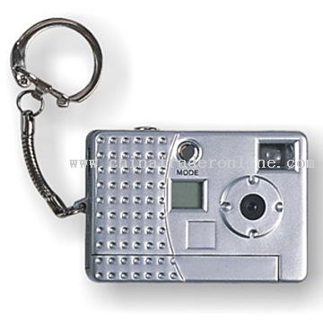 Digital Camera with Key Chain