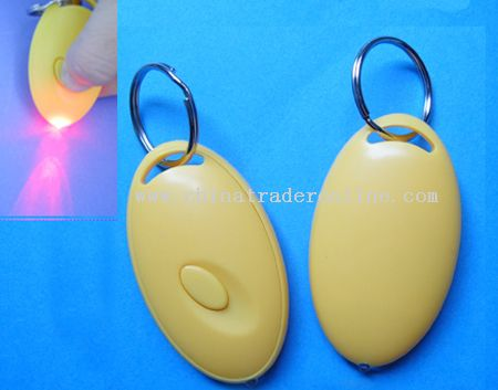 LED Keychain Light with ABS Shell from China