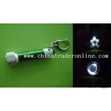 LED Metal Keychain