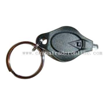 LED Plastic Keychain