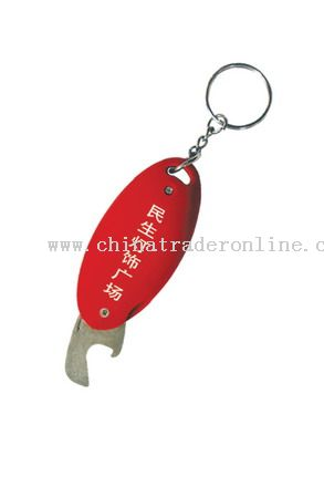 Money Detector Keychain with bottle opener