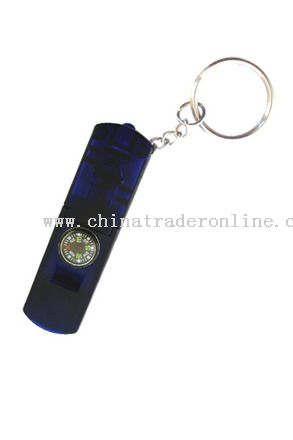 Money Detector Keychain with compass