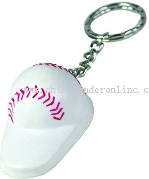 Ball Cap Opener Key Chain