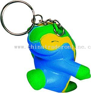 PU Dinosaur Key Chain