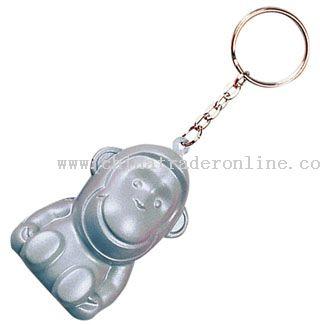 PU Monkey Keychain from China