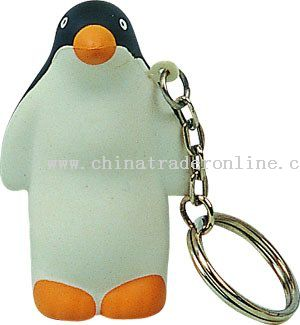 PU Penguin Key Chain from China