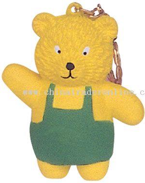 Pu Bear Keychain from China