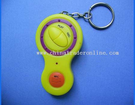 recording keychain