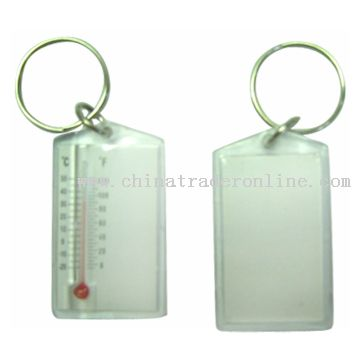 Thermometer Key Tag