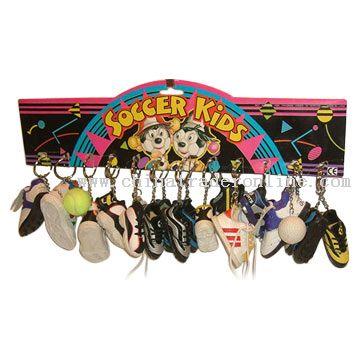 Vinyl Shoe Keychains