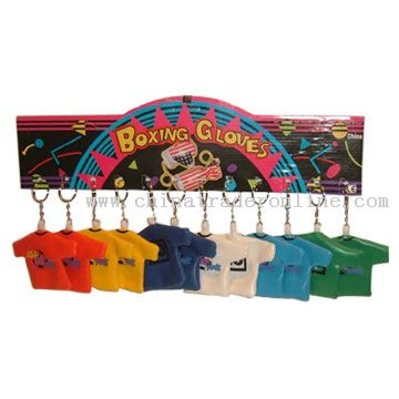 Vinyl T-Shirt Keychains