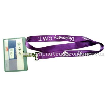ID Holder and Lanyard