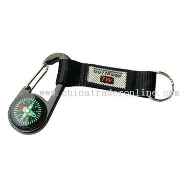 Key Short Strap with compass
