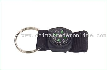 Keychain Lanyard with Compass