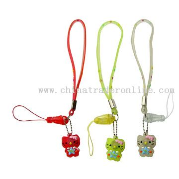 PVC Straps with Lovely Kittens from China