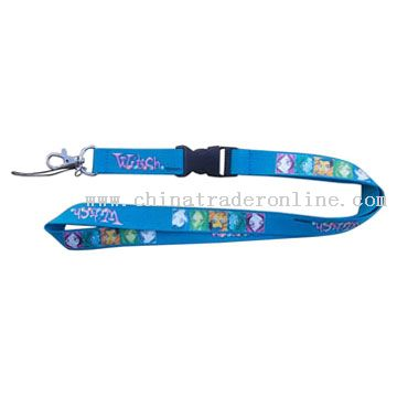 Silk Screen Printing Lanyard