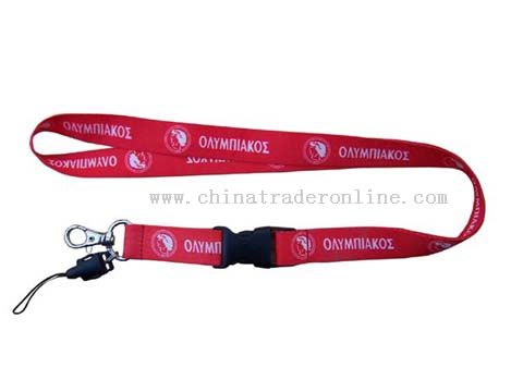 both of side and two colour sublimation transfer lanyard