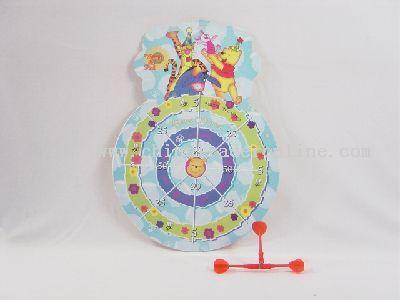 Strong magnetism dart target