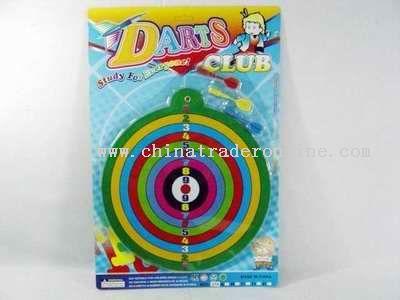 Strong magnetism dartlike target