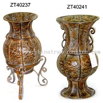 Iron Vase
