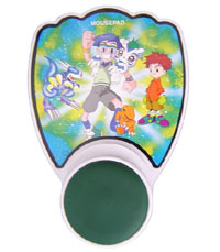 Mouse Pad With Plastic Wrist Protector(Cartoon)